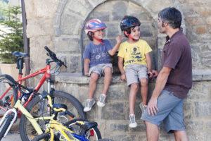 Bikefriendly lanza su producto de cicloturismo familiar Bikefriendly Kids