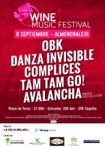 D.O. RIBERA DEL GUADIANA PARTICIPA EN EL I 'WINE MUSIC FESTIVAL' EN ALMENDRALEJO