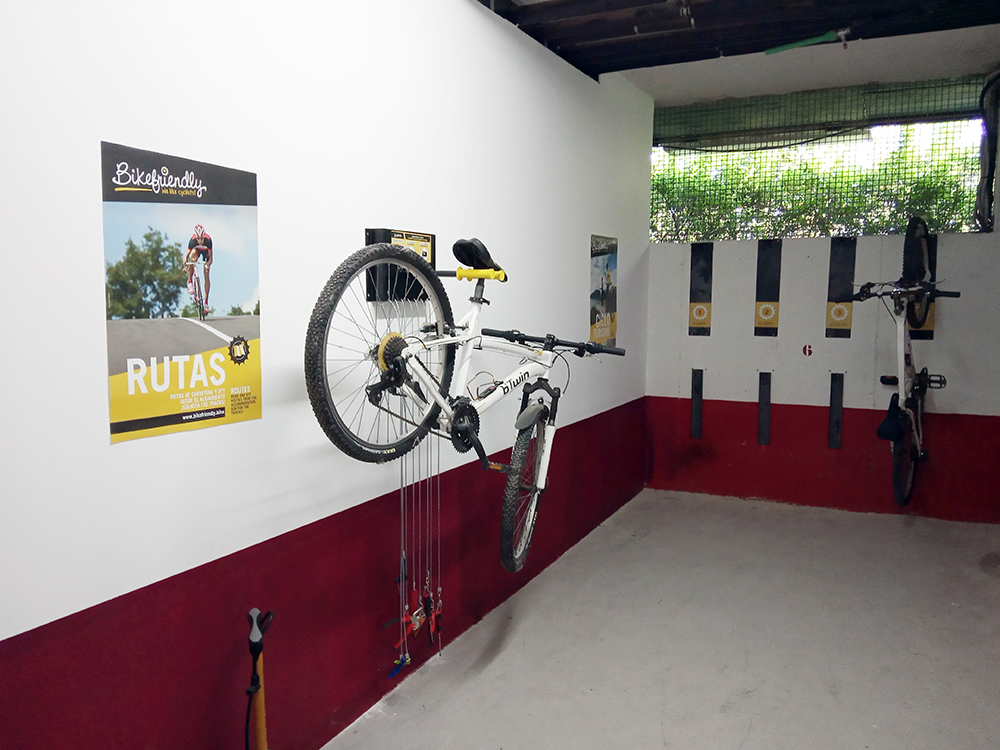 Sercotel Villa de Laguardia se convierte en un establecimiento Bikefriendly